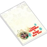 merry christmas - Large Memo Pads