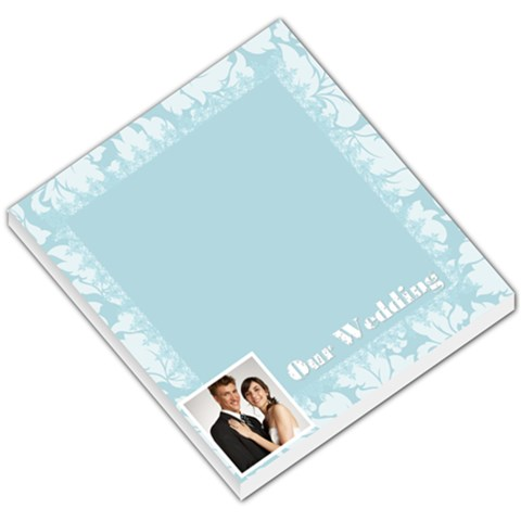 Wedding By Paula Green   Small Memo Pads   4t6i5thys4dv   Www Artscow Com