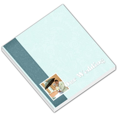 Wedding By Paula Green   Small Memo Pads   V7mb6qdvo20x   Www Artscow Com