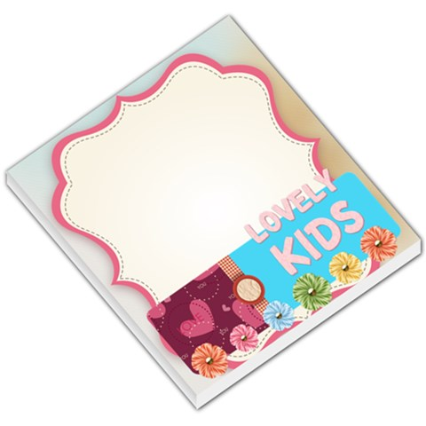 Lovely Kids By Betty   Small Memo Pads   833lzpy6fvf2   Www Artscow Com