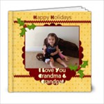 grandma and grandpa - xmas - 6x6 Photo Book (20 pages)