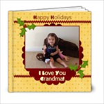 grandma cindy - xmas - 6x6 Photo Book (20 pages)