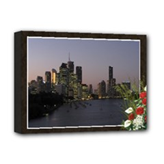 Floral outlook Deluxe 16x12 Stretched - Deluxe Canvas 16  x 12  (Stretched)