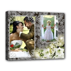 Lily and Lace Deluxe 20x16 Stretched Canvas - Deluxe Canvas 20  x 16  (Stretched)