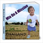 Mia on a Mission - 8x8 Photo Book (20 pages)