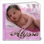 Alyssa - 8x8 Photo Book (20 pages)