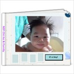 Ho Baby 0-6m - 7x5 Photo Book (20 pages)