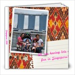 singapore - 8x8 Photo Book (20 pages)