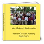 2012-13 Godbee - 8x8 Photo Book (20 pages)