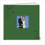 Green Book For wedding - 6x6 Photo Book (20 pages)