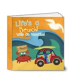 Lifes a beach while on vacation - 4x4 deluxe book - 4x4 Deluxe Photo Book (20 pages)