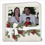 First Christmas - 8x8 Photo Book (20 pages)