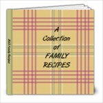 Family Recipes-C - 8x8 Photo Book (20 pages)