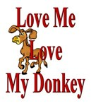 Love my donkey