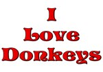 I love donkeys