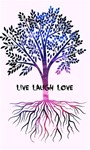 Tree of live laugh love.