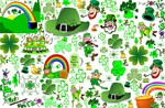 St Patrick s Day Collage