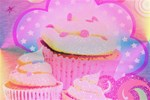 Cupcakes Covered in Sparkly Sugar