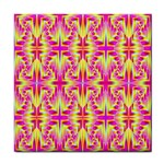 Pink and Yellow Rave Pattern