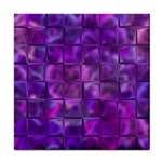 Purple Square Tiles Design