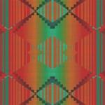 Striped tribal pattern