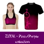 Collection: ZOUK pink/purple