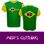 Apparel for Men: ZOUK colors of brazil