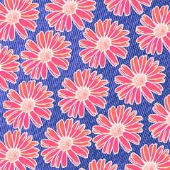 pink daisy pattern