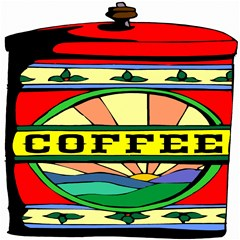 coffee tin classic illustration