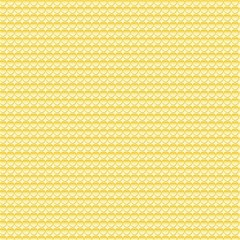 pattern yellow heart