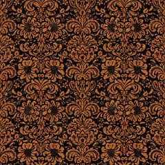 damask2 black marble rusted metal