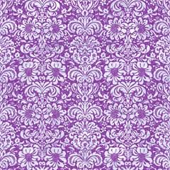 damask2 white marble purple denim