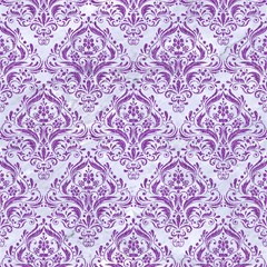 damask1 white marble purple denim