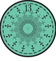 HauntedMansion clock bluegreen