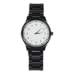 Stainless Steel Round Watch Icon