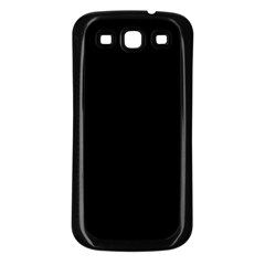 Samsung Galaxy S3 Back Case (Black) Icon