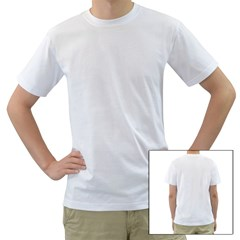 Men s T-Shirt (White) (Two Sided) Icon