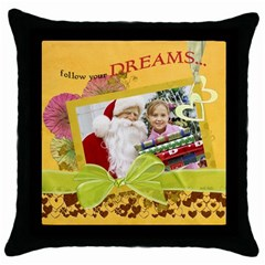 Throw Pillow Case (Black) Icon