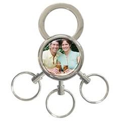 3-Ring Key Chain Icon