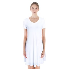 Short Sleeve V-neck Flare Dress Icon