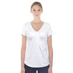 Short Sleeve Front Detail Top Icon