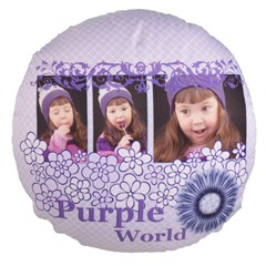 Large 18  Premium Round Cushions Icon