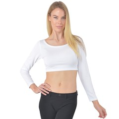 Long Sleeve Crop Top Icon