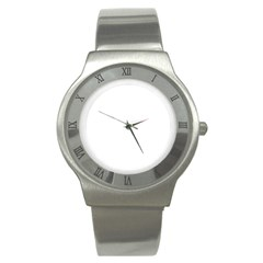 Stainless Steel Watch Icon