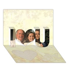 I Love You 3D Greeting Card (7x5) Icon