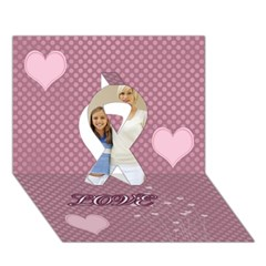 Ribbon 3D Greeting Card (7x5) Icon