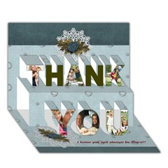 THANK YOU 3D Greeting Card (7x5) Icon