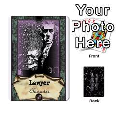 Jack In The Dark Of The Night 3 By Peter Cobcroft   Playing Cards 54 Designs   Okbdx0pzi90i   Www Artscow Com Front - DiamondJ