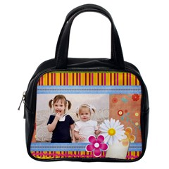 Flower Kids By Joely   Classic Handbag (two Sides)   Cqhjqr86rtv2   Www Artscow Com Back