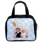 snow of christmas - Classic Handbag (Two Sides)